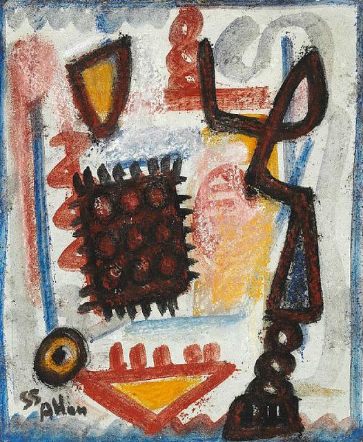 Jean-Michel Atlan, 'Petite Cocotte', 1955, HUNDERTMARKartFAIR