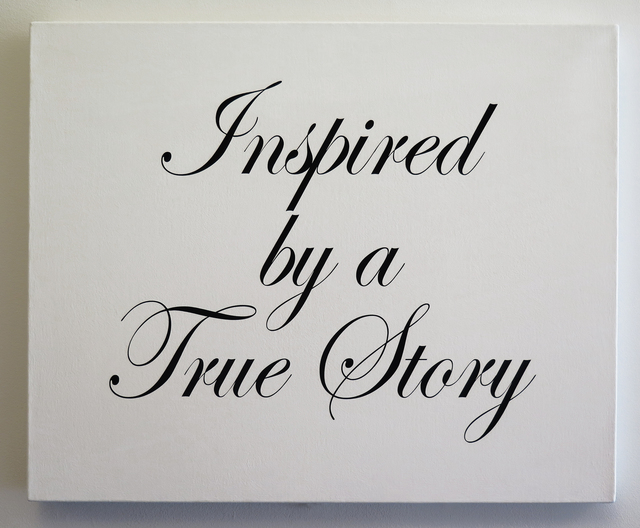 , 'Inspired by a True Story,' 2008, Resource Art
