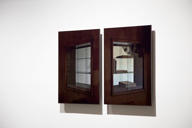 , 'Dos vitrinas (dyptich),' 2014, Pasto