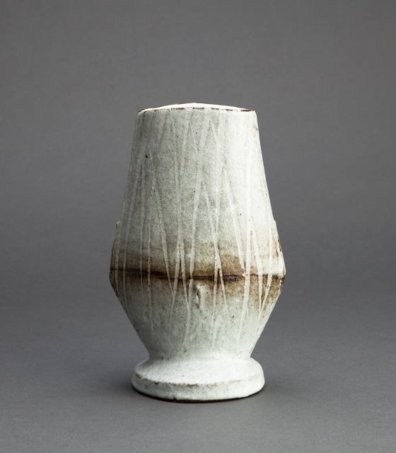 , 'Figurative vase, nuka glaze with iron slip and wax brushwork,' , Pucker Gallery