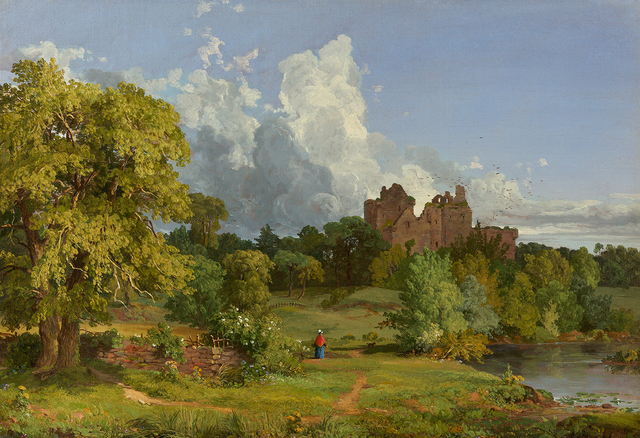 , 'Doune Castle,' 1848, Questroyal Fine Art