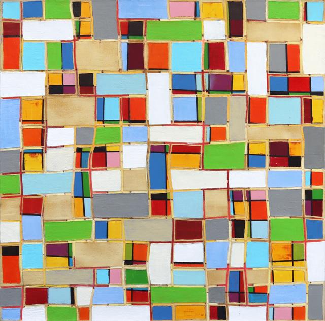 Petra Rös-Nickel, 'Multi Pattern', 2020, Painting, Oil on Canvas, Artspace Warehouse