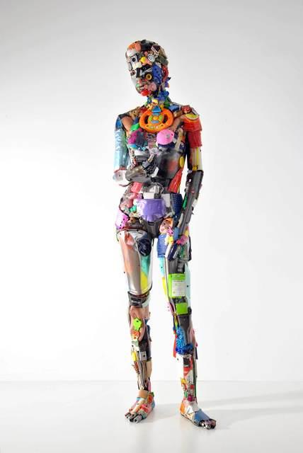 , 'Donna al telefono,' 2017, SimonBart Gallery
