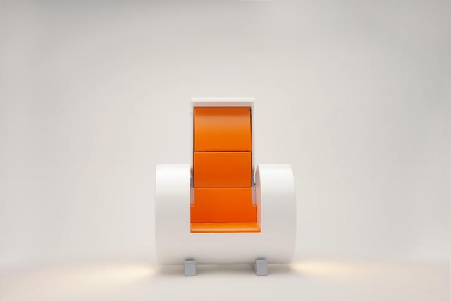, 'Cloche harm chair White model,' 2015, Galleria Ca' d'Oro