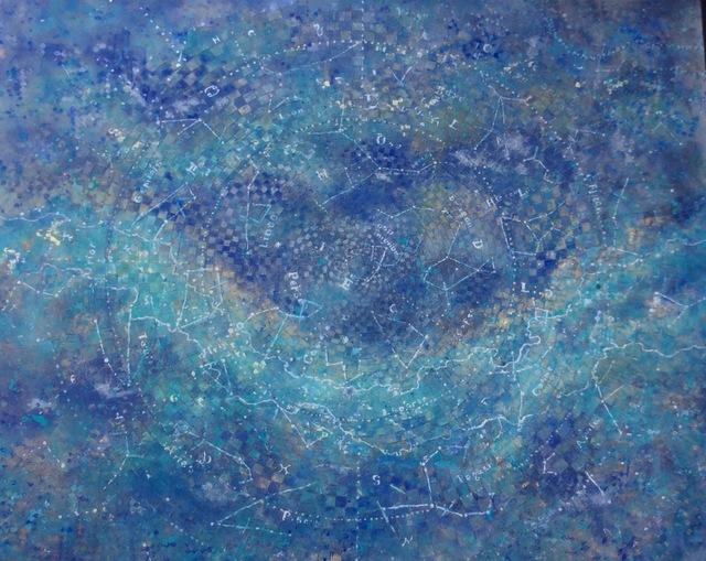 , 'La noche secreta ,' 2018, Galería Quetzalli