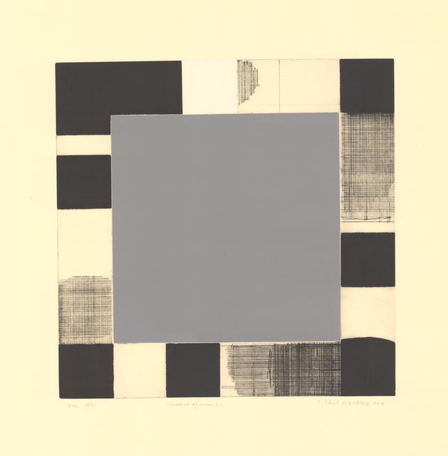 , 'Square and Moon 2,' 2018, Kunstverket Galleri