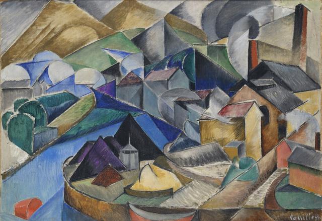 , 'Spanish Landscape,' ca. 1913, Galerie Le Minotaure