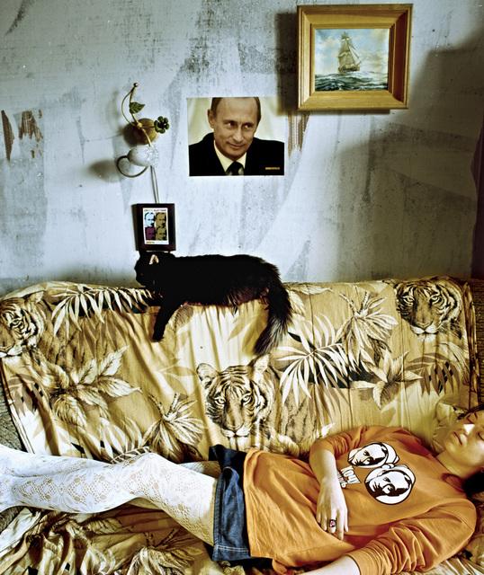 , 'Alina dreaming,' 2007, Faur Zsofi Gallery