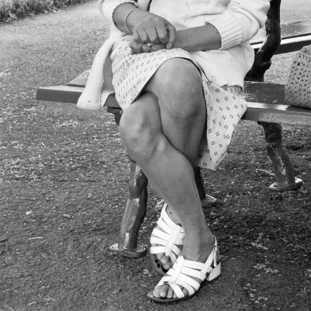 , 'Woman on a bench, Joubert Park, Johannesburg,' 1975, Goodman Gallery