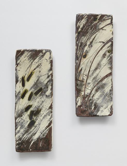 , 'Long Tray I & Long Tray II,' 2017, Jane Hartsook Gallery