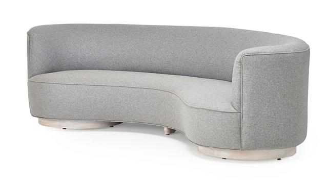 Awesome Vladimir Kagan Kagan Dreyfuss Inc Curved Sofa New York Caraccident5 Cool Chair Designs And Ideas Caraccident5Info