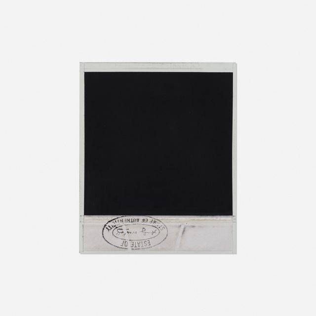 Andy Warhol, 'Self-Portrait', c. 1984, Polaroid, Rago/Wright