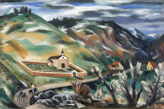 , 'Pecos Valley,' 1937, Addison Rowe Gallery