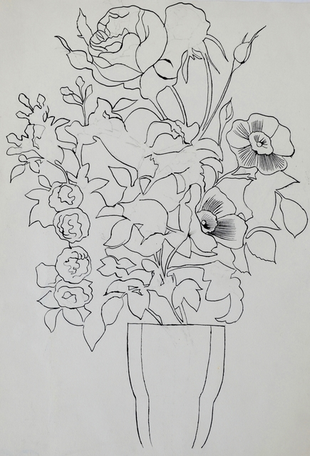 Andy Warhol, 'Untitled (Flowers)', ca. 1956, Long-Sharp Gallery