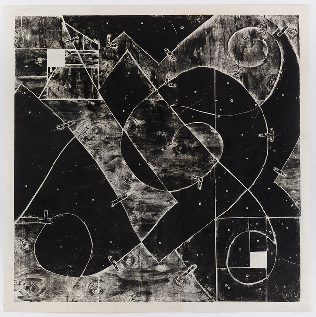 , 'White Squares (with Mending Plates),' 1993, David Nolan Gallery