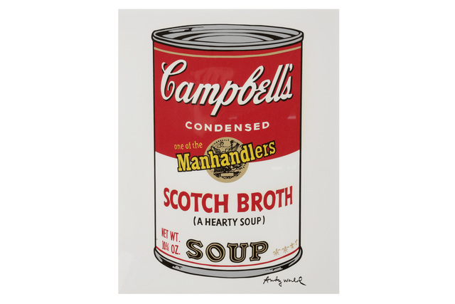 Andy Warhol, 'Campbells Soup Scotch Broth', 1980s, Chiswick Auctions