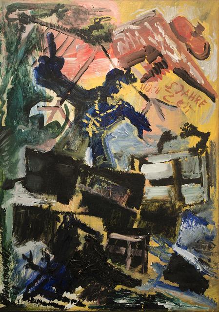 , 'Ansprache an meine Bilder,' 1981, Galerie Schwarzer