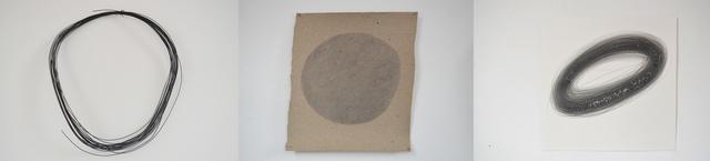 , 'Ensayo sobre circunferencia 13 (tres tiempos),' 2014, MARSO