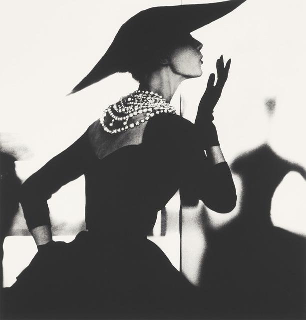Lillian Bassman, 'Blowing Kiss, Barbara Mullen, New York', circa 1958, Phillips
