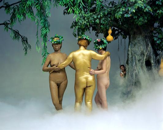 , 'Three Graces,' 2002, Gabinete de Arte k2o