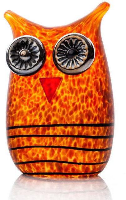 Borowski Glass, 'MINI OWL Amber', 2019, New River Fine Art