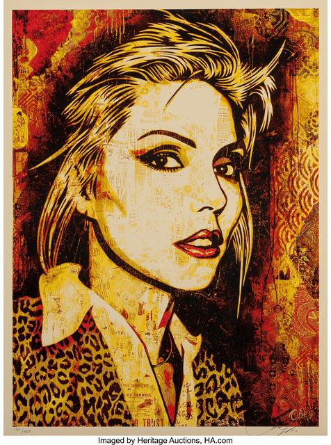 Shepard Fairey (OBEY), 'Debbie Harry Canvas Print', 2010, Heritage Auctions