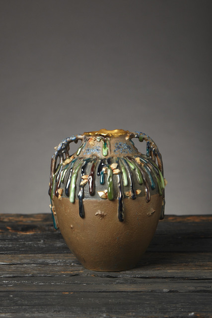 , 'Gems and Drips Vase,' ca. 1900, Jason Jacques Gallery