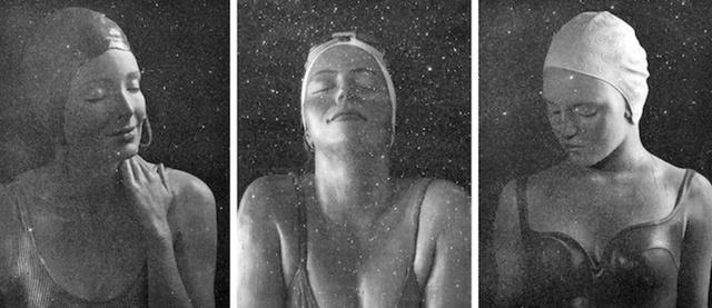, 'Diamond Dust Triptych: Capri, Catalina & Moran,' 2016, Alpha 137 Gallery