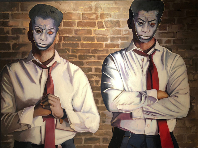 , 'Walls: Baldwin,' 2018, N'Namdi Contemporary Art Center