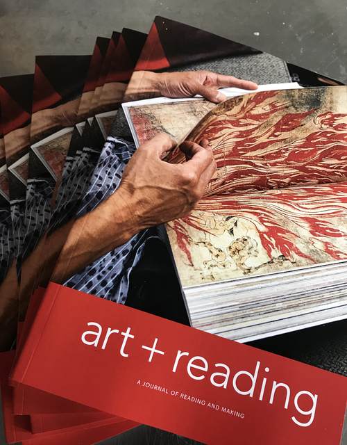 , 'art+reading,' 2018, CMS Art Projects