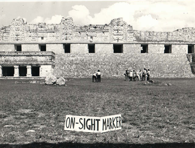 , 'Off-sight Marker - On-sight Marker,' 1980, Henrique Faria Fine Art