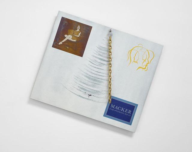 , 'Chain Painting I,' 2015, Klowden Mann