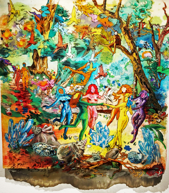 , 'Crystals and Shells,' 2018, Gallery Victor Armendariz