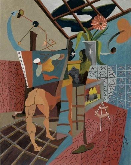 Charles Elmer Harris, 'Studio B', 1951, Dolan/Maxwell