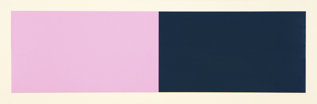 Rupert Deese, 'Rivers & Mountains/3, Pink/Green', 2018, Drawing, Collage or other Work on Paper, Cut and pasted painted paper, Manneken Press