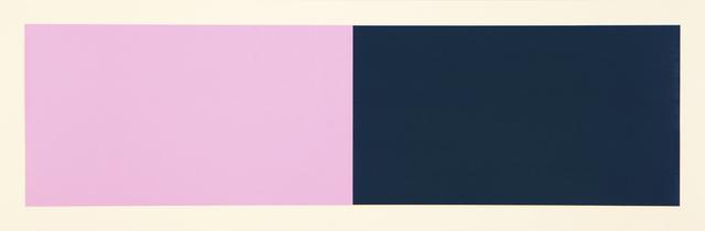 , 'Rivers & Mountains/3, Pink/Green,' 2018, Manneken Press