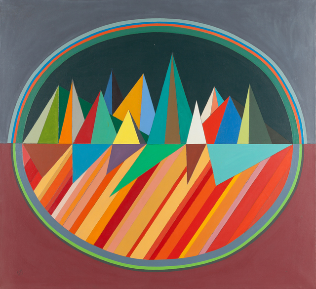 , 'Small Mirage Painting,' 1966, Childs Gallery