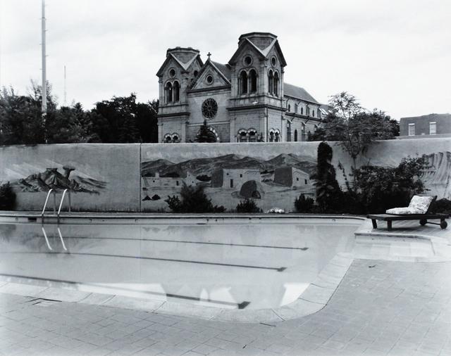 Nicholas Nixon, 'View from La Fonda Poolside, Santa Fe', 1973, Scheinbaum & Russek Ltd.