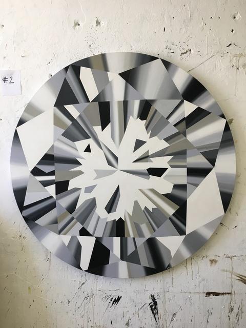 """Kurt Pio, '""""Clear Round Diamond_XL""""', 2019, Parlor Gallery"""