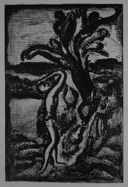 Georges Rouault, 'Réincarnations du Père Ubu:  frontispiece', 1918, Sylvan Cole Gallery