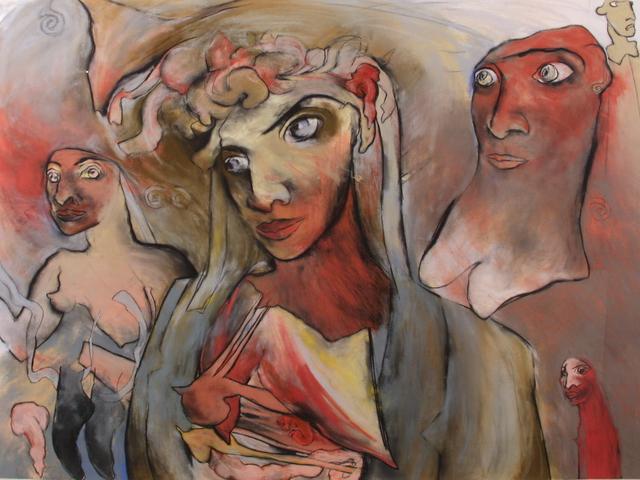 Amanda Faulkner, 'Cardinal', 1990, Flowers
