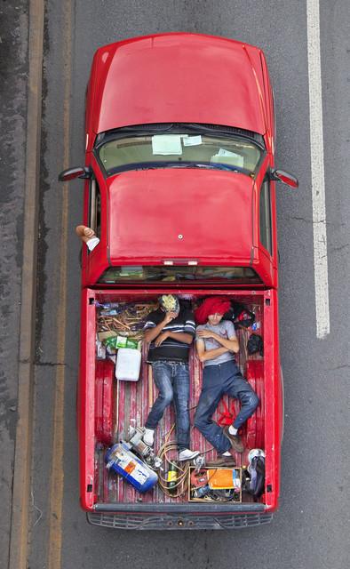 , 'Carpoolers 32,' 2011-2012, CuratorLove