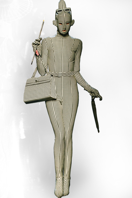 ", 'A design from Jean Paul Gaultier's ""French Cancan"" women's ready-to-wear fall-winter collection of 1991–92, as seen at his thirtieth anniversary retrospective runway show, October 2006,' 1991-92/2006, Brooklyn Museum"