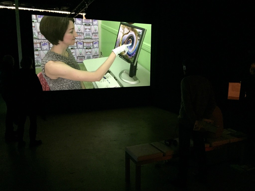 Shana Moulton, MindPlace ThoughtStream, Projections at Art Rotterdam
