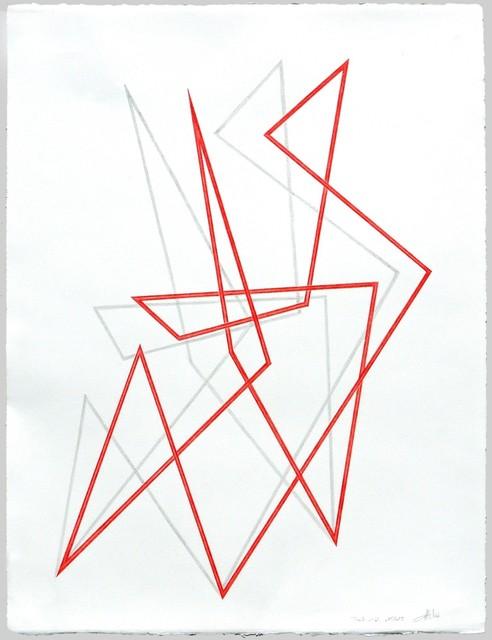 , 'Trait 41 - Dessin,' 2013, Galerie Marie-Robin