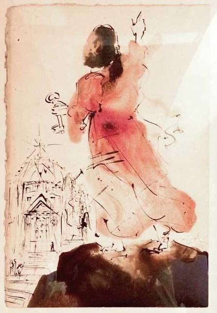 Salvador Dalí, 'Tu es Petrus (You are Peter) from Biblia Sacra Series.', 1964, Robin Rile Fine Art