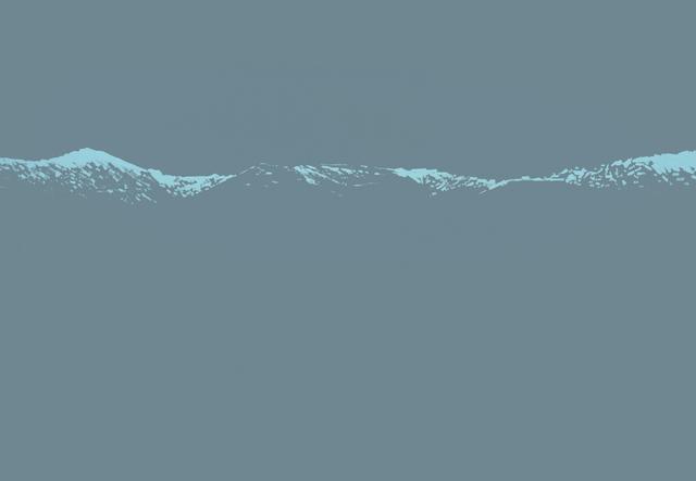 , 'Mountains 04.03, 17:14,' 2017, Galerie Sandhofer