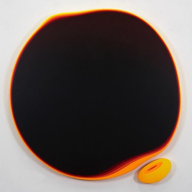, 'Burned Ameba,' 2019, Samuel Owen Gallery