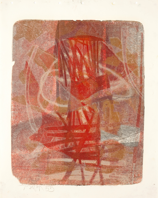 Harold Town, 'Untitled (Single Autographic Print)', 1955, Christopher Cutts Gallery
