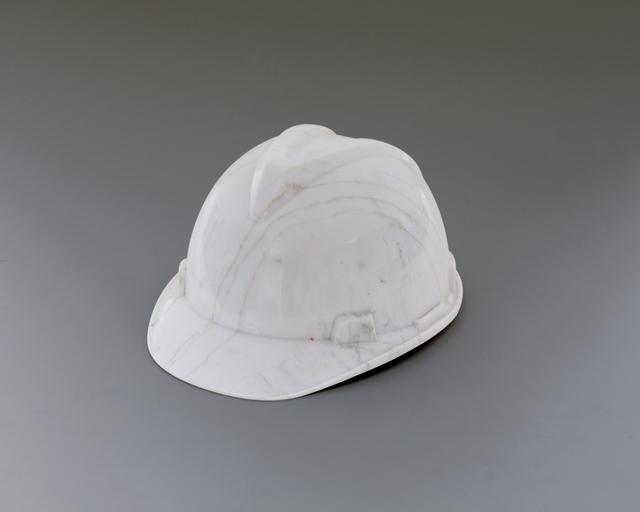 , 'Marble Helmet,' 2010, Brooklyn Museum